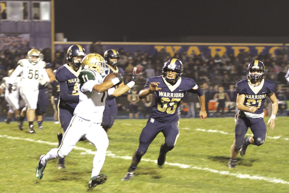 Warriors March into finals, 28 - 7
