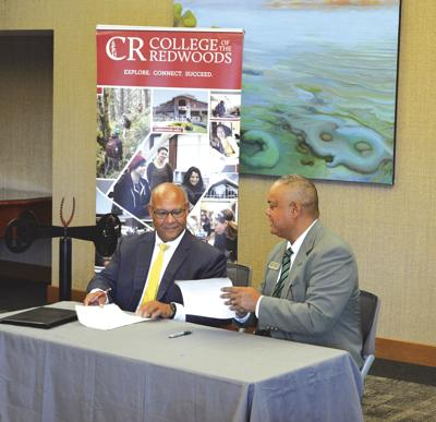 Area Colleges Formalize Partnerships Community
