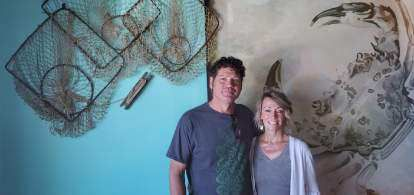 Michael and Jennifer Schmidt opened Schmidt's House of Jambalaya 10 years after moving to Crescent City and at the start of the COVID-19 pandemic.