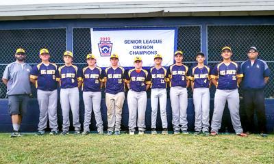 The Del Norte Little League Senior All Stars