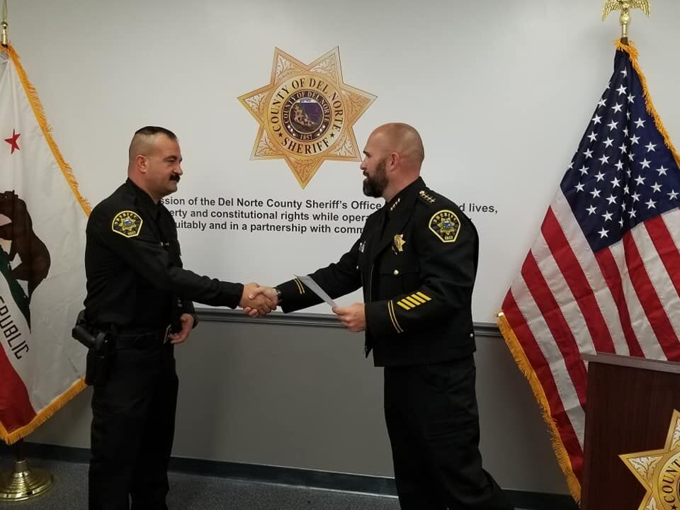 DNSO welcomes new deputy and correctional lieutenant