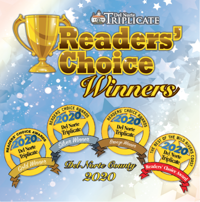 2020 Del Norte County Reader's Choice Winners