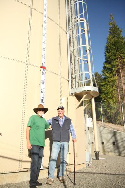Big Rock Water Tank