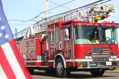 Crescent City Fire and Rescue fire engine