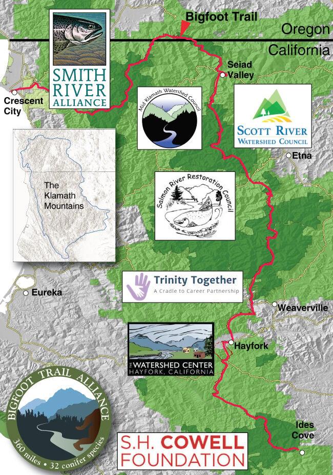 Bigfoot Trail Map