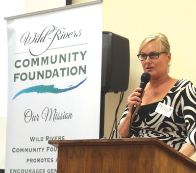 Wild Rivers Community Foundation executive director Gina Zottola