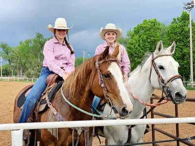 Cowgirls compete