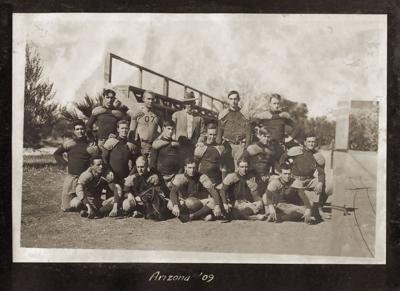 1909 Arizona Football