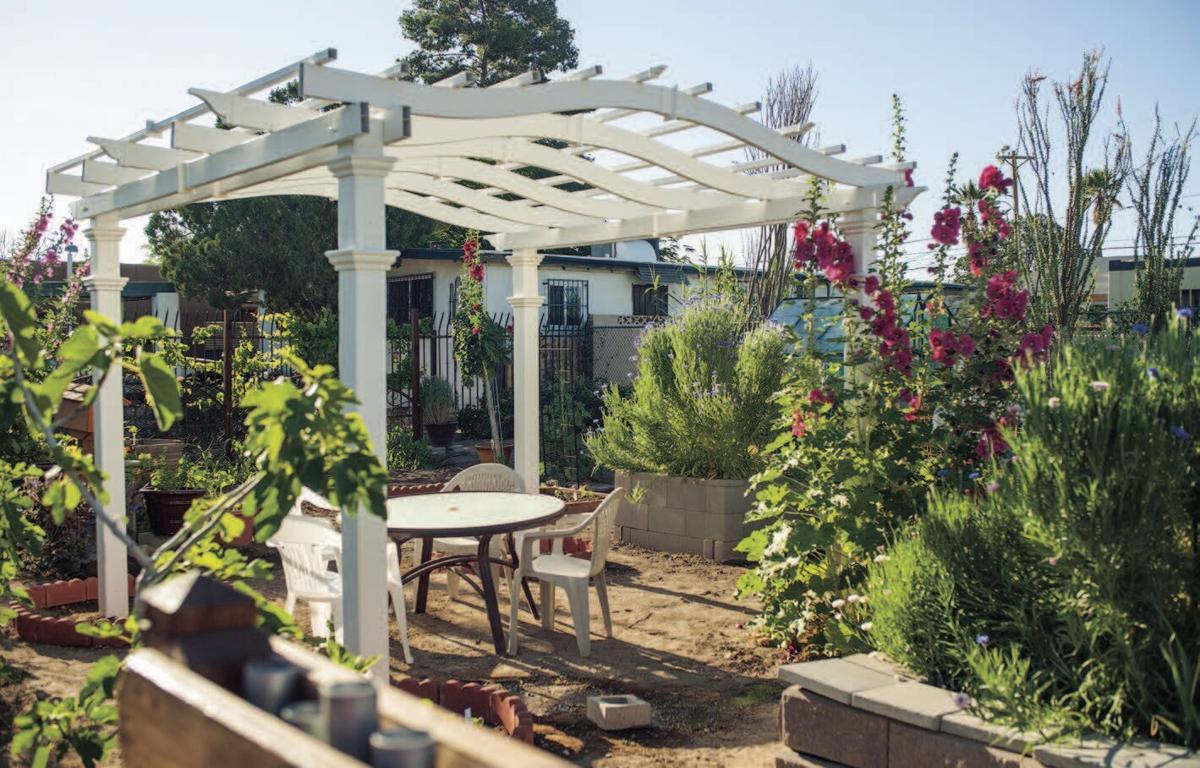 Garden Kitchen 1