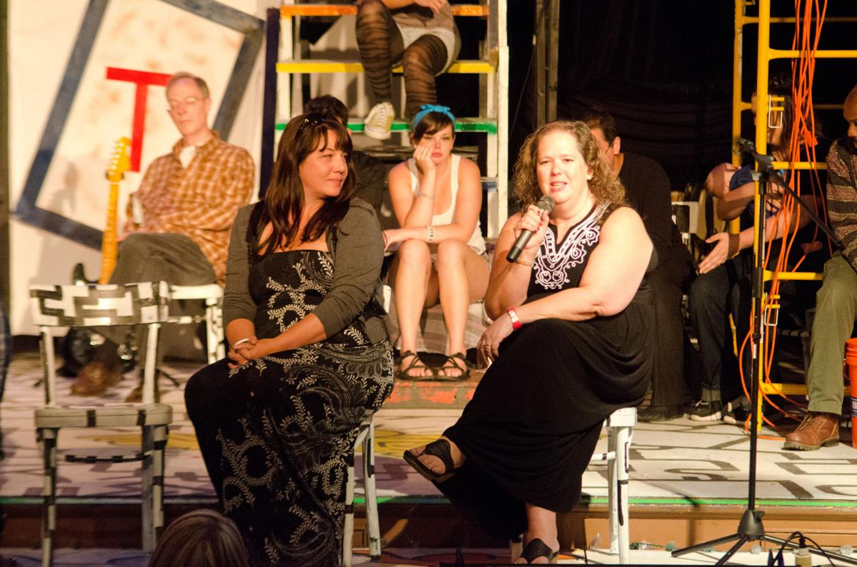 NYC theatre advocate in town for 'Rent'; 200 attend Friday show; post-show talkback held