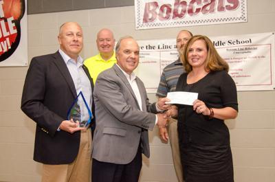 Jacobs awards WMS teacher for STEM efforts