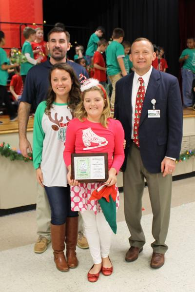 Claire Fogarty wins Tennova Christmas card contest