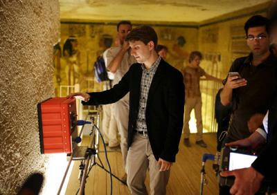 Egypt says no hidden rooms in King Tut's tomb after all