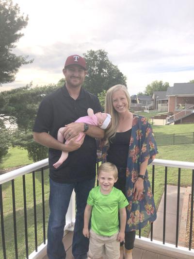 Bryan Morris and family