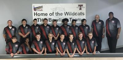 THS boys bowling team