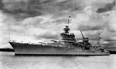 Wreckage from the USS Indianapolis Located