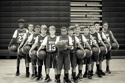 West Middle School sixth-grade boys basketball