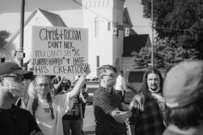 Lynn Sebourn Protest