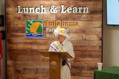 Lunch and Learn women's suffrage