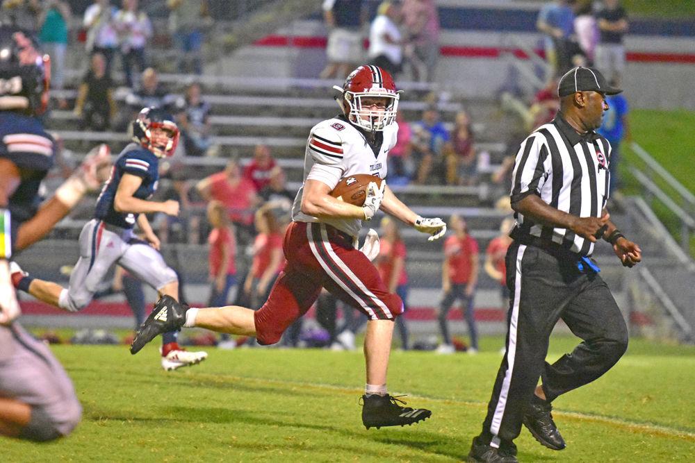 Matthew Ross THS vs. Franklin County football