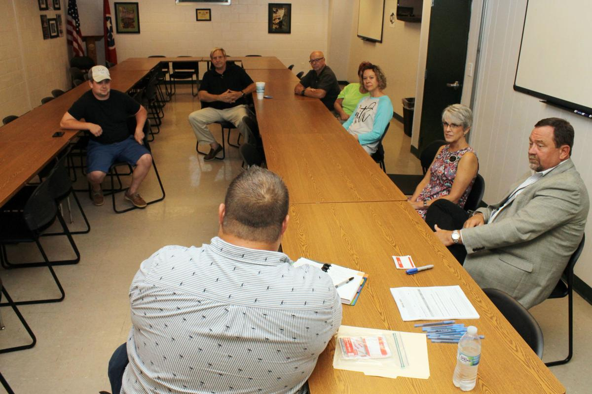 Berry hosts first town hall   Local News   tullahomanews com