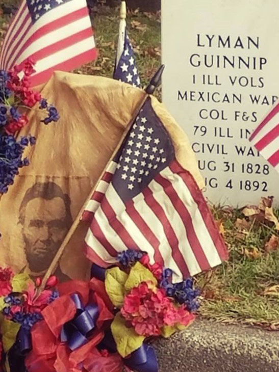 Colorful colonel's gravestone is dedicated