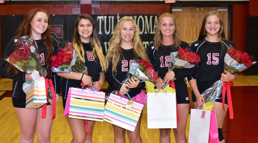 THS volleyball 2018 seniors