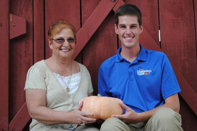 Pink pumpkin sales will aid breast cancer research