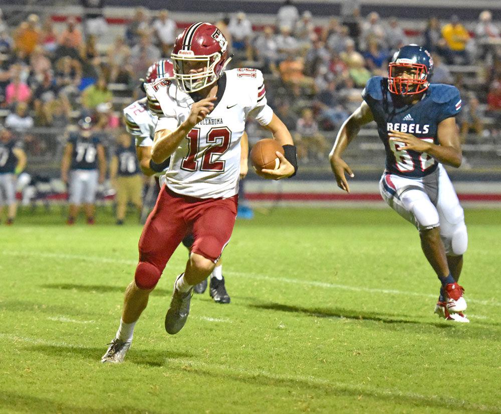 THS quarterback Ben Fulton