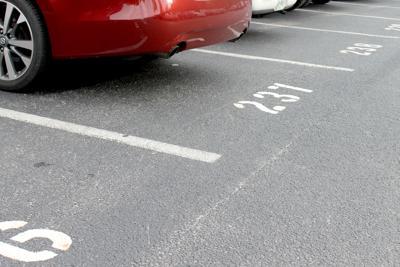 THS parking lot