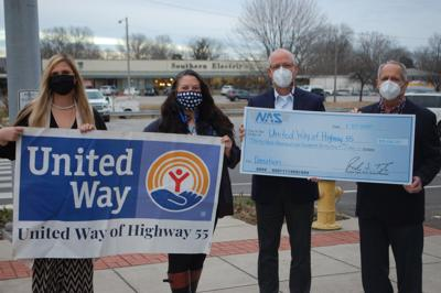 NAS makes large local United Way donation