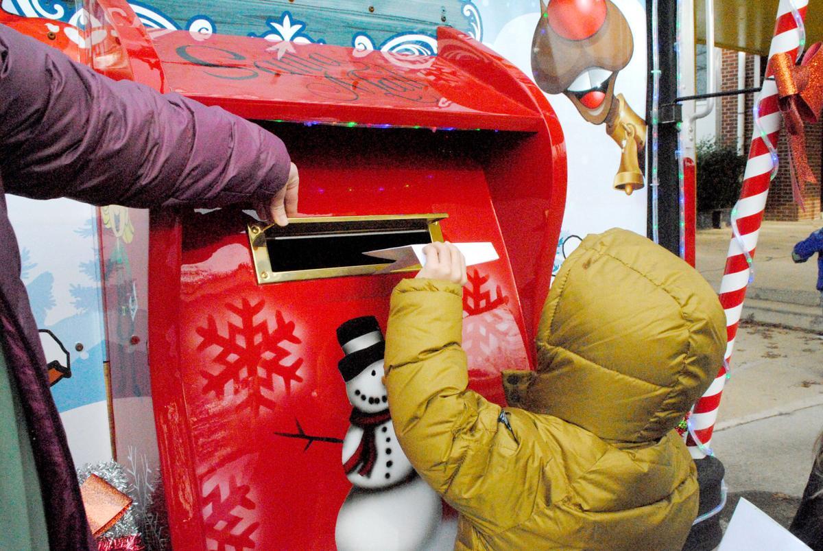 Santa letter boy