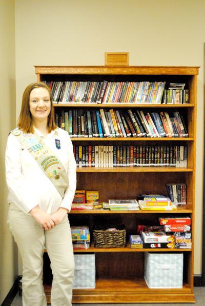Golden Girl Scout Hannah Martin