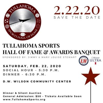 Save the Date- Tullahoma Sports Hall of Fame