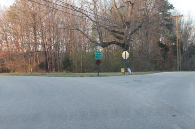 Ovoca Riley Creek Intersection