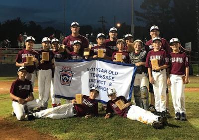 Little League 11U District Champs