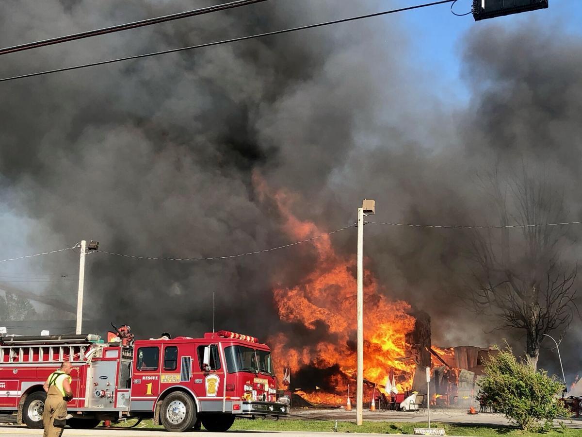 Smokehouse Fire 1
