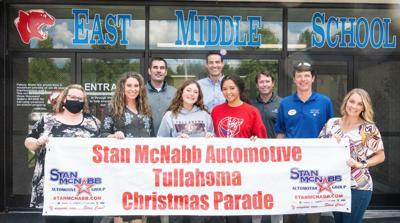 Aaliyah Morris and Hayden Roberts with Tullahoma Parade Committee