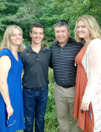 Jason Welch and family