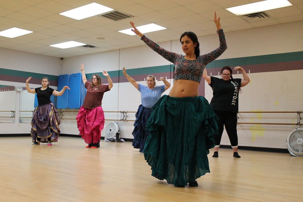 Workout Routine: Belly Dancing Exercises II