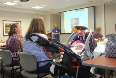 New mothers hear from advocates during World Breastfeeding Week