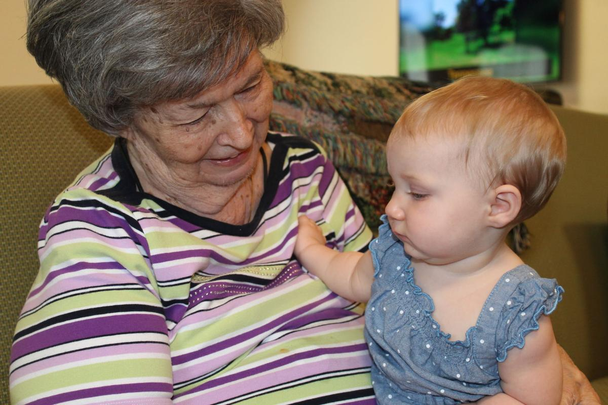 Cuddle therapy brings joy to assisted living residents