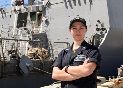 Coffee County native serves aboard Navy destroyer | Local News
