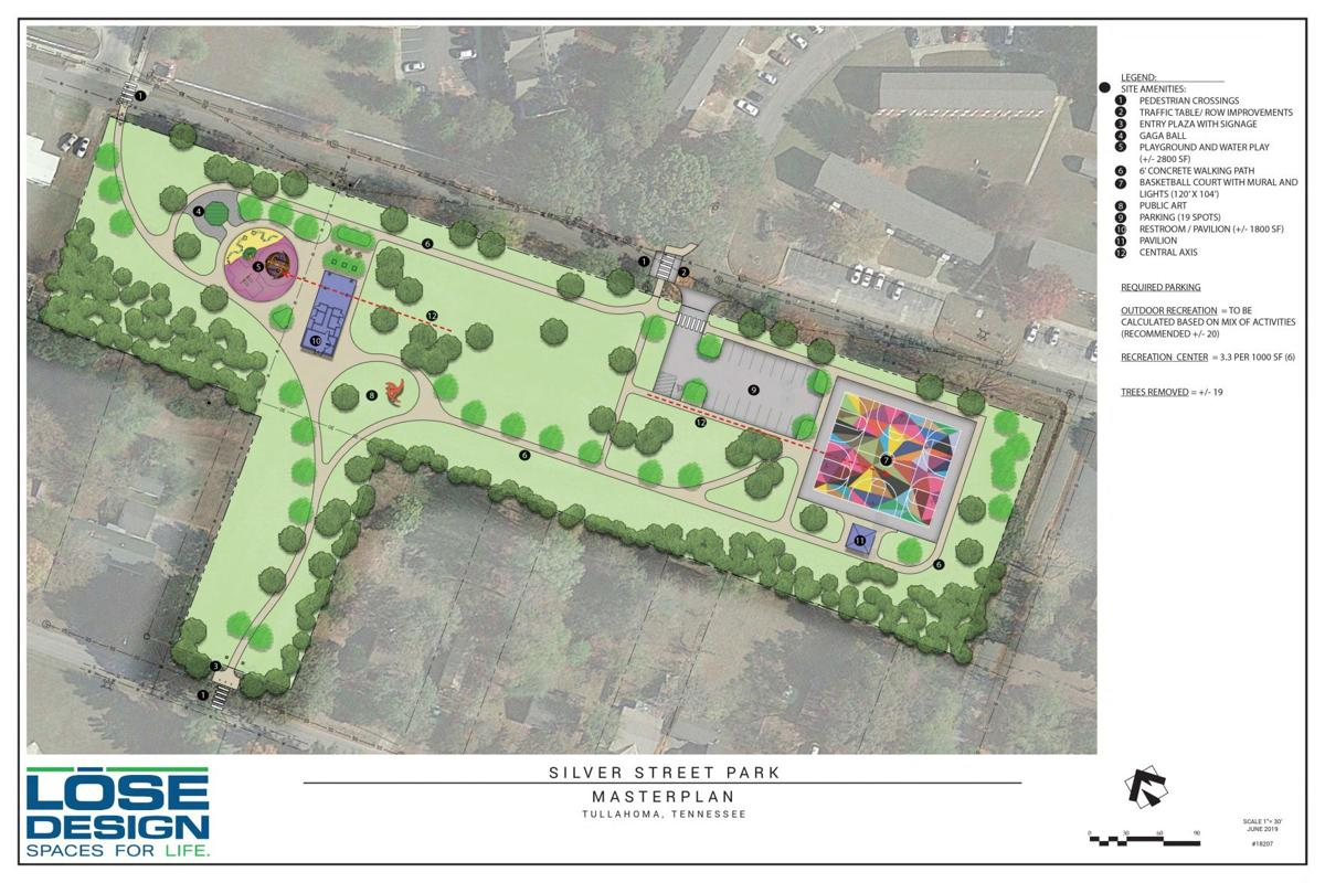 Silver Street Park Plans