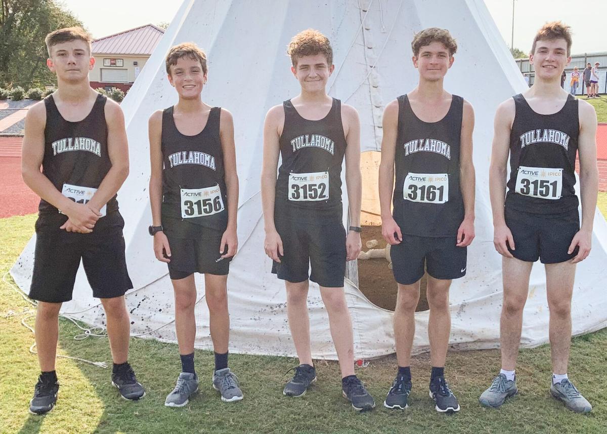 Tullahoma High School Boys Cross Country Team 2021