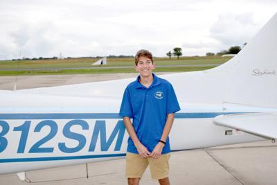 First flight: Spencer Yoder solos on 16th birthday