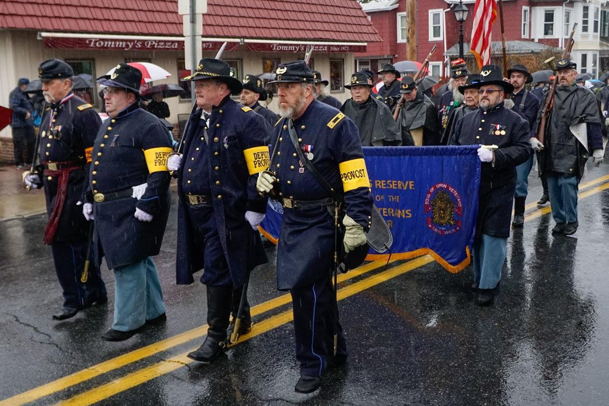Gettysburg Remembrance Day parade draws large crowd despite rain and security threat