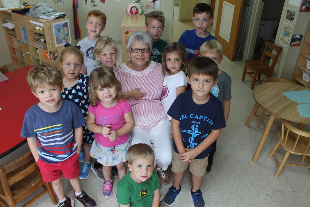 Linda Conner with kids