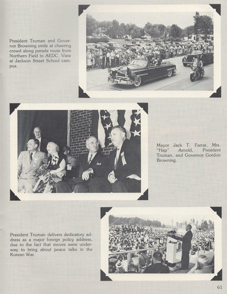 Truman visit by paul pyle