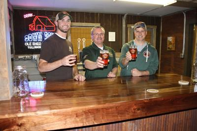 Ole Shed brewery opens taproom